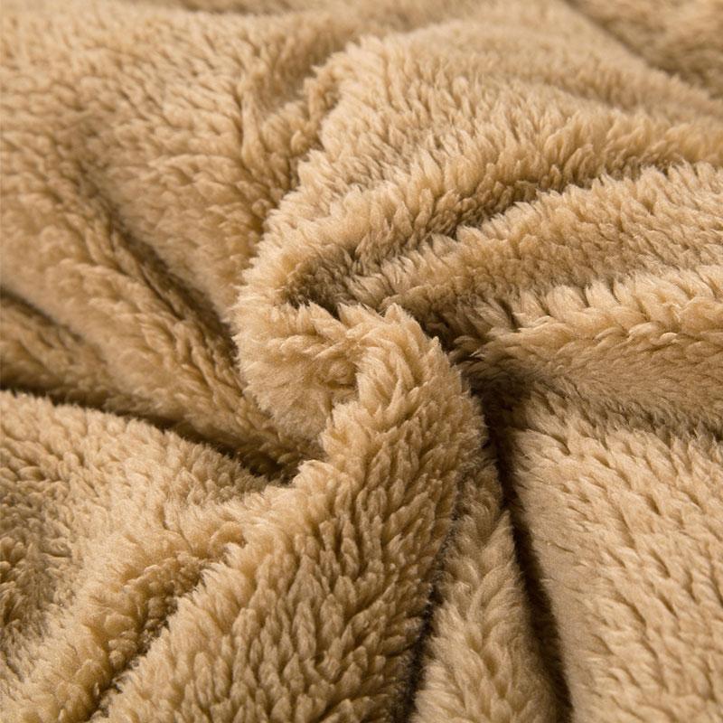Chăn lông cừu kyoryo hồng 2mx2m33
